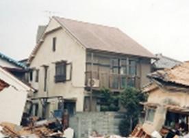 阪神淡路大震災の当社建物物件